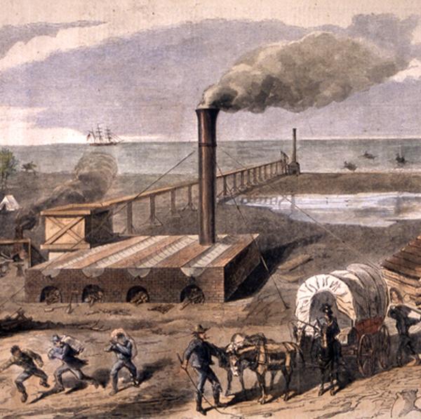 Civil War Salt Works