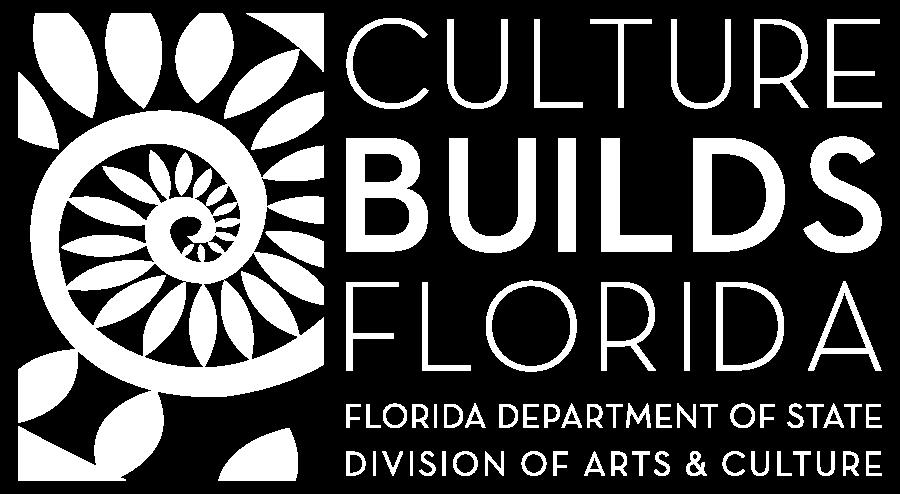 Division of Arts & Culture White Horizontal Logo