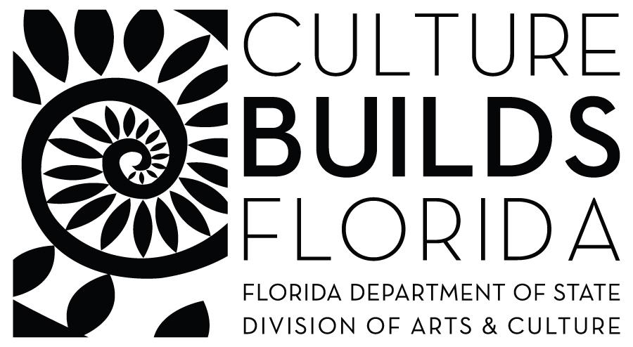 Division of Arts & Culture Black Horizontal Logo